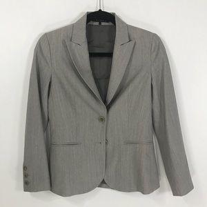 Theory size 0 women's gray blazer